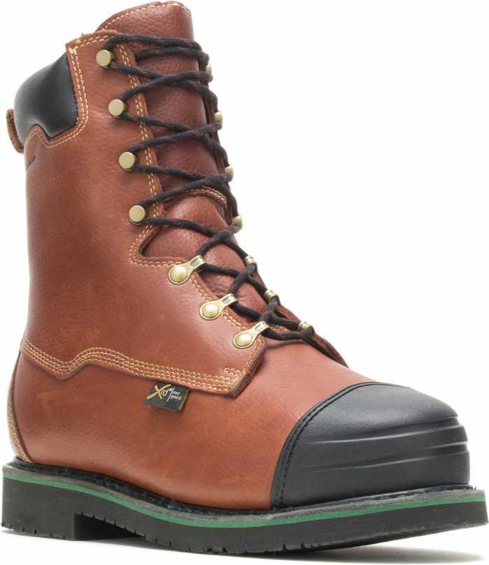 HYTEST 04052 Footrests Massena, Men's, Comp Toe, EH, Internal Met, High Heat, 10 Inch Boot