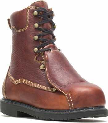 HYTEST 04065 Brown Electrical Hazard, Composite Toe, External Met-Guard Men's 10 Inch Boot