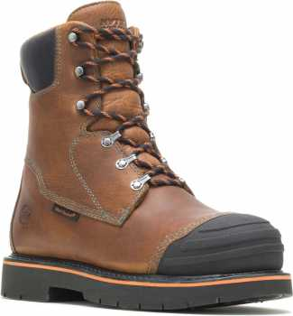 HYTEST 04321 Boulder, Men's, Alloy Toe, EH, Mt, Heat Resistant, 8 Inch Boot
