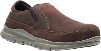 HYTEST 10113 Men's Brown, Twin Gore, Steel Toe, EH, Casual Slip On