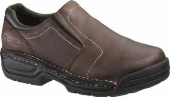HYTEST 10241 Men's/Women's Brown Twin Gore Slip On Internal Met Guard Steel Toe