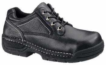 HYTEST 10250 Men's/Women's Internal Met Guard Black Casual Opanka Oxford Steel Toe EH