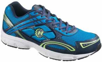 HYTEST 11153 Men's Steel Toe, EH, Blue, Low Athletic