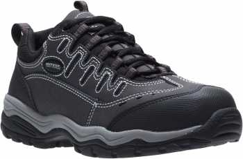HYTEST 11280 Avery, Men's, Black, Comp Toe, SD, Athletic Oxford