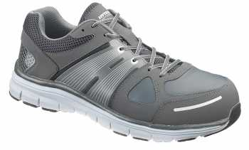 HYTEST 11423 Men's Grey/Grey Athletic Steel Toe Electrical Hazard