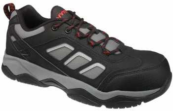 HYTEST 11460 Men's Black/Grey, Comp Toe, SD, Cross Trainer