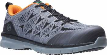 HYTEST 11651 Men's, Grey, Nano Toe, SD, Athletic Oxford