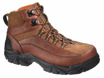 HYTEST 12009 Brown Electrical Hazard, Steel Toe, Waterproof Men's Hiker