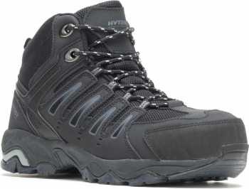 HYTEST 12150 Trekker, Men's, Black, Steel Toe, EH Hiker