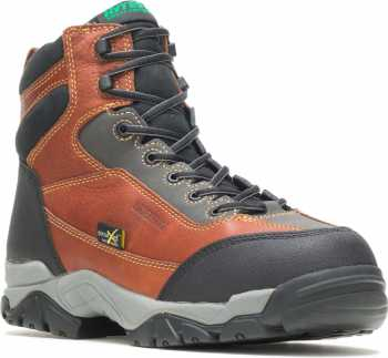 HYTEST 12253 Apex, Men's, Brown, Comp Toe, EH, Mt, WP/Insulated, 6 Inch Boot