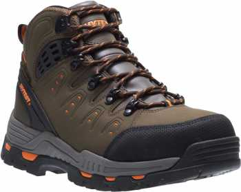 HYTEST 12611 Men's, Brown, Steel Toe, EH, Waterproof, Hiker