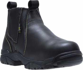HYTEST 13200 Black Steel Toe, EH, XRD Internal Met Guard, Easy On/Off, Welder's Boot