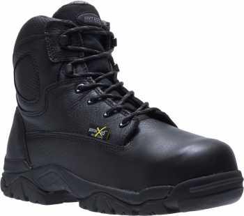 HYTEST 13450 Men's, Black, Steel Toe, EH, Mt, 6 Inch Boot