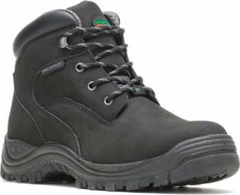 HYTEST 13620 Knox, Men's, Black, Steel Toe, EH, PR, 6 Inch, WP Boot