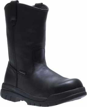 HYTEST 15440 Men's, Black, Steel Toe, EH, WP, Pull On Boot