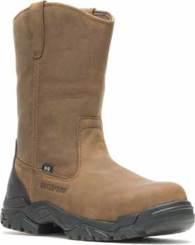 HYTEST 15481 Apex, Men's, Brown, Comp Toe, EH, PR, WP Wellington