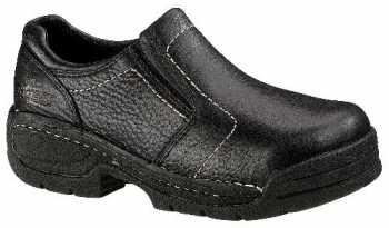 HYTEST 17140 Black Electrical Hazard, Steel Toe, Women's Opanka Twin Gore Slip On