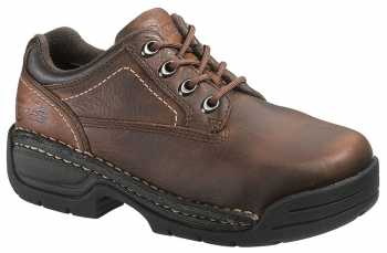 HYTEST 17151 Women's Brown, Steel Toe, EH, Opanka Oxford