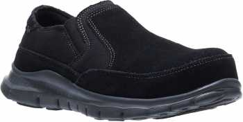 HYTEST 17300 Women's Black, Steel Toe, EH, Twin Gore Slip On