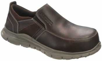 HYTEST 17351 Women's Brown, Steel Toe, EH Twin Gore Slip On