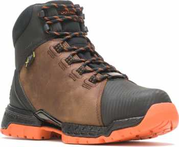 HYTEST FootRests 2.0 23131 XERGY, Men's, Brown/Orange Nano Toe, EH, Mt, WP Hiker