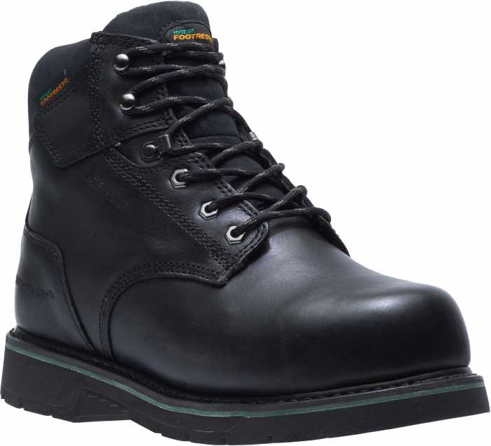 HYTEST FootRests 23230 Black Electrical Hazard, Composite Toe, Internal Met Guard, Waterproof Men's 6 Inch Work Boot