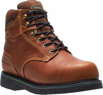 HYTEST FootRests 23231 Brown Electrical Hazard, Composite Toe, Internal Met Guard, Waterproof Men's 6 Inch Work Boot