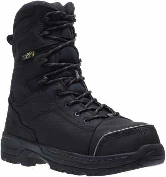 HYTEST 24210 Men's Black, Nano Safety Toe, EH, Internal Met, 8 Inch Boot