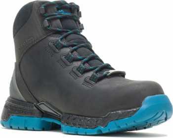 HyTest 27479 FootRests 2.0 Maya, Women's, Black, Comp Toe, EH, WP Hiker