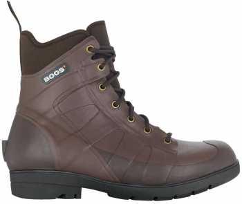 Bogs BG71401-202 Brown Soft Toe, Waterproof, Men's Turf Stomper 7 Inch Boot