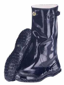 Abel AB6950BLK Black Rubber 17 Inch Soft Toe Pullover Slush Boot 100% Waterproof