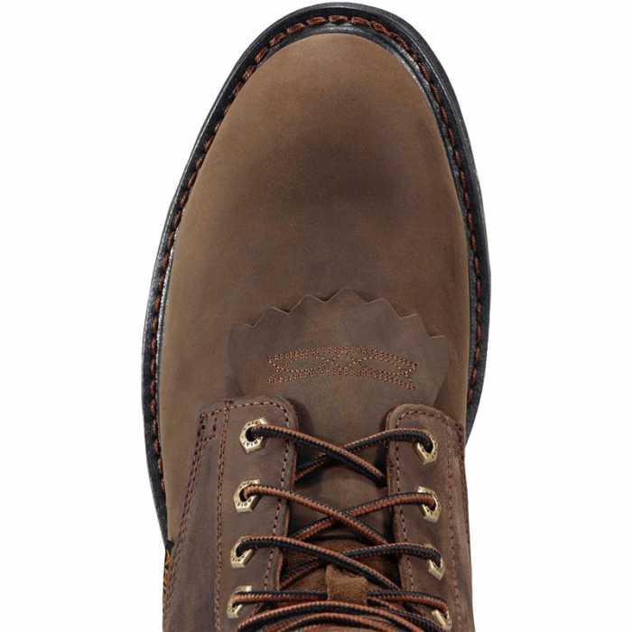 Ariat 1943 Men's Brown 8 Inch Workhog Boot Composite Toe SR Waterproof