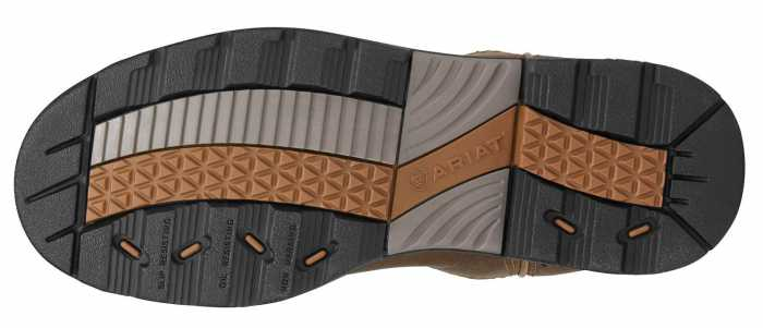 Ariat 8634 Women's Brown Slip Resistant Composite Toe EH Wellington