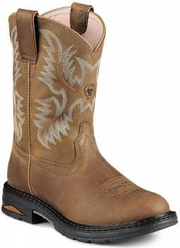 Ariat AR8634 Women's Brown Slip Resistant Composite Toe EH Wellington