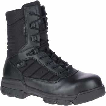 Bates BA2362 Tactical Sport, Men's, Black, Comp Toe, EH, WP, 8 Inch, Zipper Boot