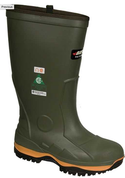 Baffin BAF5157 Ice Bear PU Molded Boot, Comp Toe, EH, PR, CSA Compliant, CE Compliant