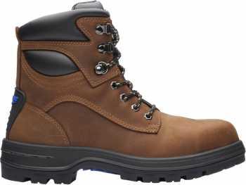Blundstone BL143 Men's, Brown, Steel Toe, EH, 6 Inch Boot