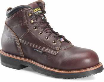 Carolina CA1815 Men's Brown, Comp Toe, EH, 6 Inch Boot, Made In USA