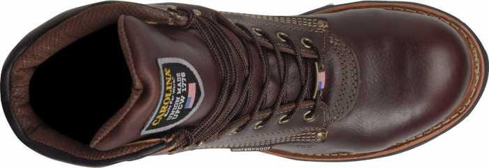 Carolina CA1816 Men's Brown, 8 Inch, Comp Toe, EH, Waterproof, Made In USA Boot