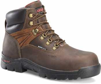 Carolina CA5537 Hook, Men's, Brown, Comp Toe, EH, WP, 6 Inch Boot