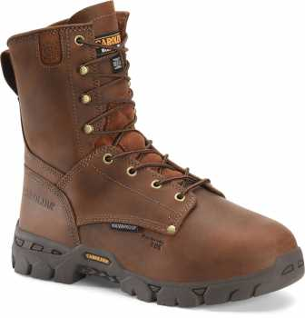 Carolina CA9582 Buster, Men's, Brown, Comp Toe, EH, Internal Met, WP, 8 Inch