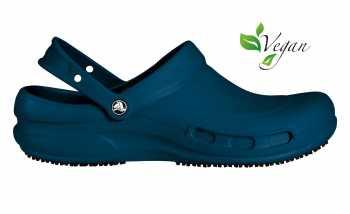 Crocs Bistro Unisex Navy Slip Resistant Soft Toe Clog