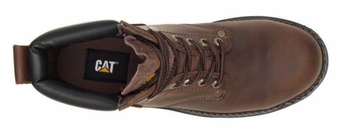 Caterpillar CT89586 Second Shift, Men's, Brown, Steel Toe, EH, 6 Inch Boot