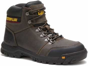 Caterpillar CT90802 Outline, Men's, Gull Grey, Steel Toe, EH, 6 Inch Boot