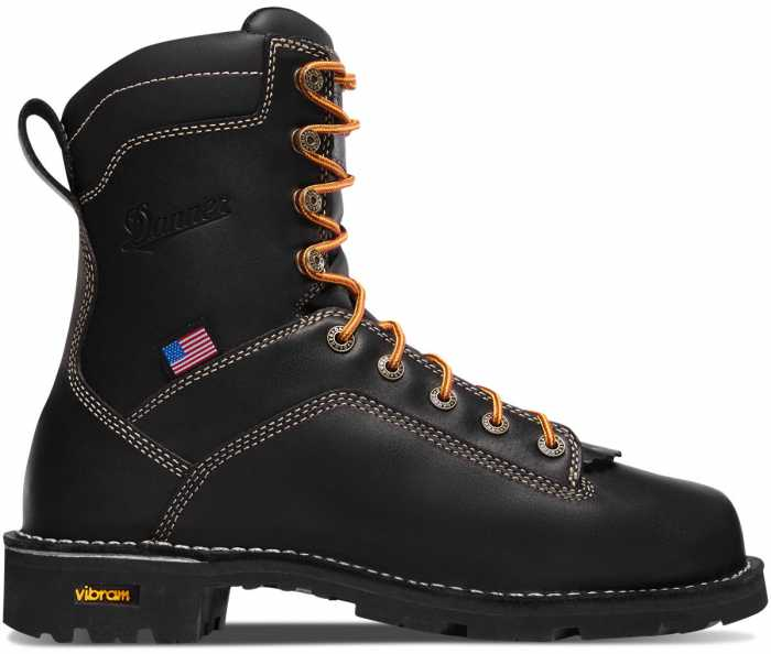 Danner DH17311 Quarry, Men's, Black, Alloy Toe, EH, WP, 8 Inch Boot