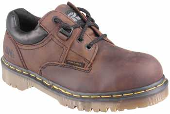 Dr. Martens DM0071W2365 Unisex, Brown, Steel Toe, SD, Casual Oxford