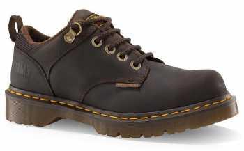 Dr. Martens 13975201 Ashridge Men's Brown Soft Toe, SD, Slip Resistant Casual Oxford
