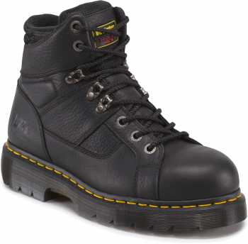 Dr. Martens DMR13400001 Ironbridge, Men's, Black, Steel Toe, EH, Lace To Toe Boot