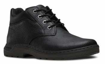 Dr. Martens DMR16945001 Esteem Men's, Black, Soft Toe, Slip Resistant Chukka