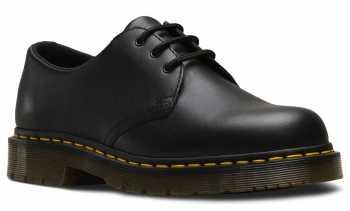 Dr. Martens DMR24381001 1461 Originals, Unisex, Black, Soft Toe Slip Resistant Oxford